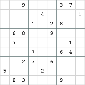 Decompressed Sudoku